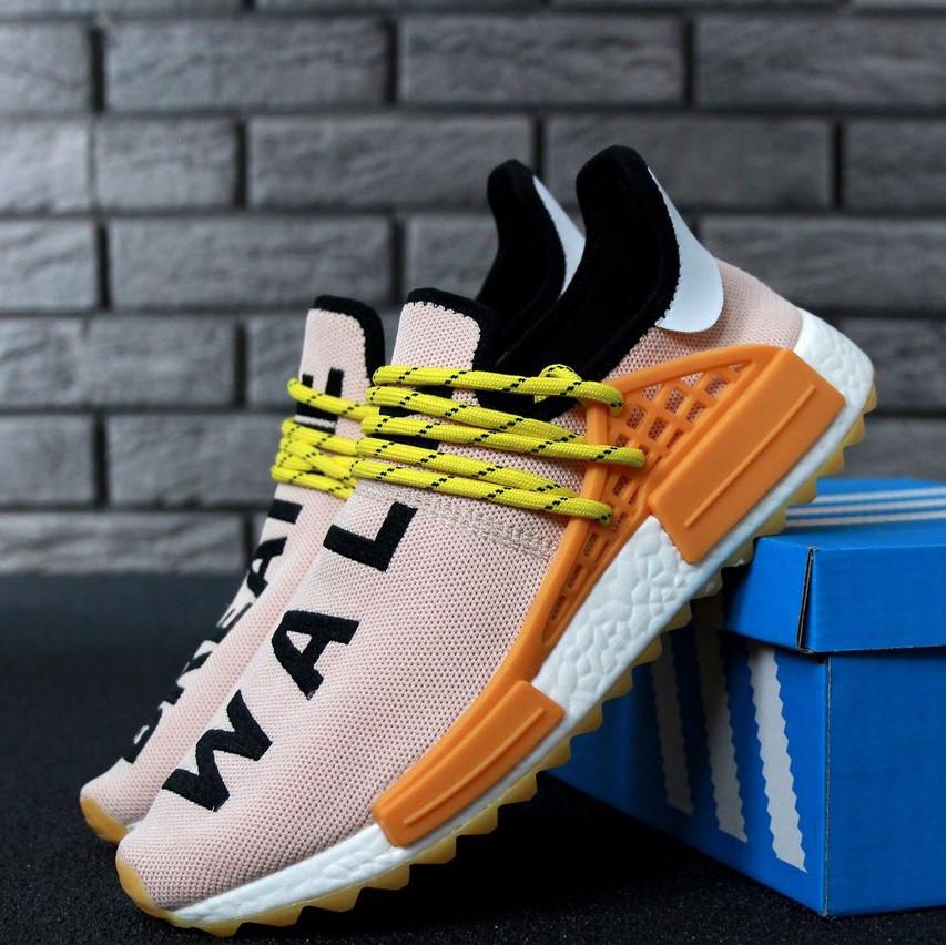 Adidas x Pharrell Williams NMD HU Trail Pale Nude, Black