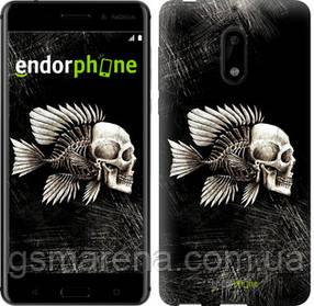 """Чехол на Nokia 6 Рыбо-человек """"683c-898-7794"""""""