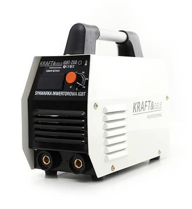 Инверторный сварочный аппарат MMA 250A 230V IGBT KD1841 Инвертор, фото 2