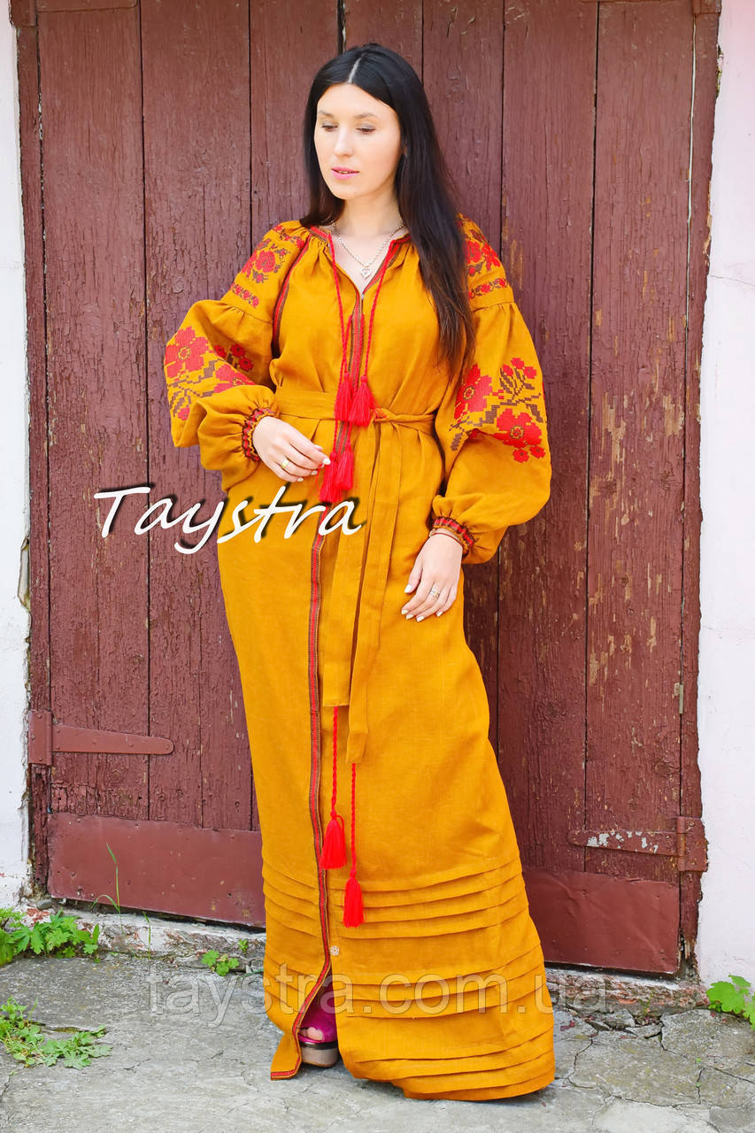 9ea146bbf3951a Платье вышиванка лен, этно стиль бохо шик, вишите плаття вишиванка,  Bohemian,стиль