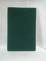 Абразивное волокно  зеленое в листах  (скотч-брайт)