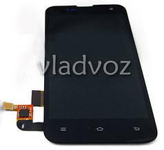 Дисплей модуль экран с сенсором для замены на Xiaomi Mi2S LCD черный
