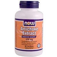 Артишок экстракт  450 мг  90 капс  желчегонные препараты печень желчный пузырь Now Foods USA