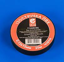 Изолента черная 12-0401BK 15мм 25м