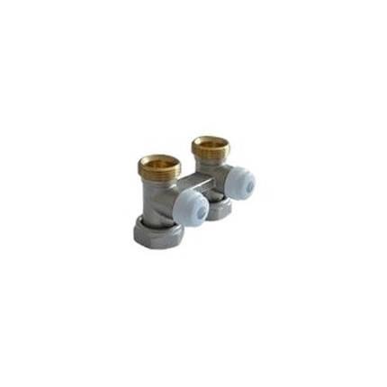 Клапан нижнего подключения Roda проходной 3/4 х 3/4, фото 2