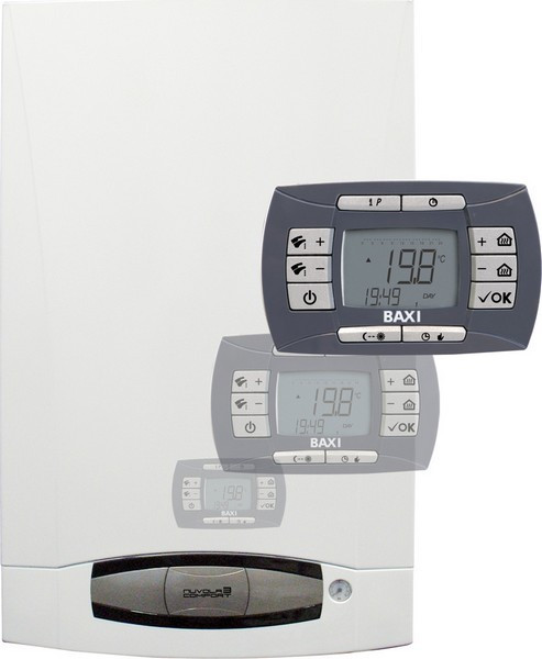 Котёл газовый BAXI NUVOLA-3 Comfort 310 Fi