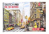 Альбом для эскизов А4 Finr art cketches 20л