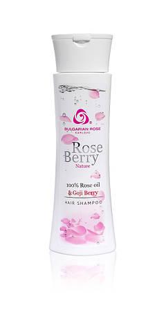 Шампунь для волос Болгарская Роза Rose Berry Nature 200 мл, фото 2