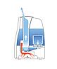 Ультразвуковой увлажнитель воздуха Boneco Air-O-Swiss U650 White, фото 2