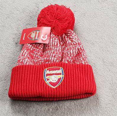 Футбольная шапка Арсенал красный