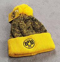 Футбольная шапка Боруссия желтый