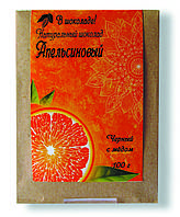 "Шоколад на меду ""Апельсиновый"", 100 г"