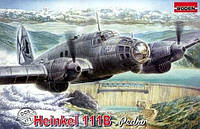 1:72 Сборная модель самолета Heinkel He-111B, Roden 005