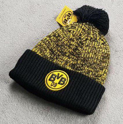 Футбольная шапка Боруссия черный
