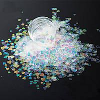 Конфетти, камифубики для дизайна ногтей, микс № HR346-381