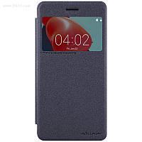Чехол Nillkin Sparkle Leather Case для Nokia 6 Dark Grey