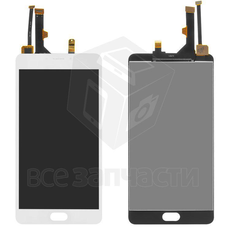 Дисплейный модуль для мобильного телефона Meizu M3 Max, белый Original