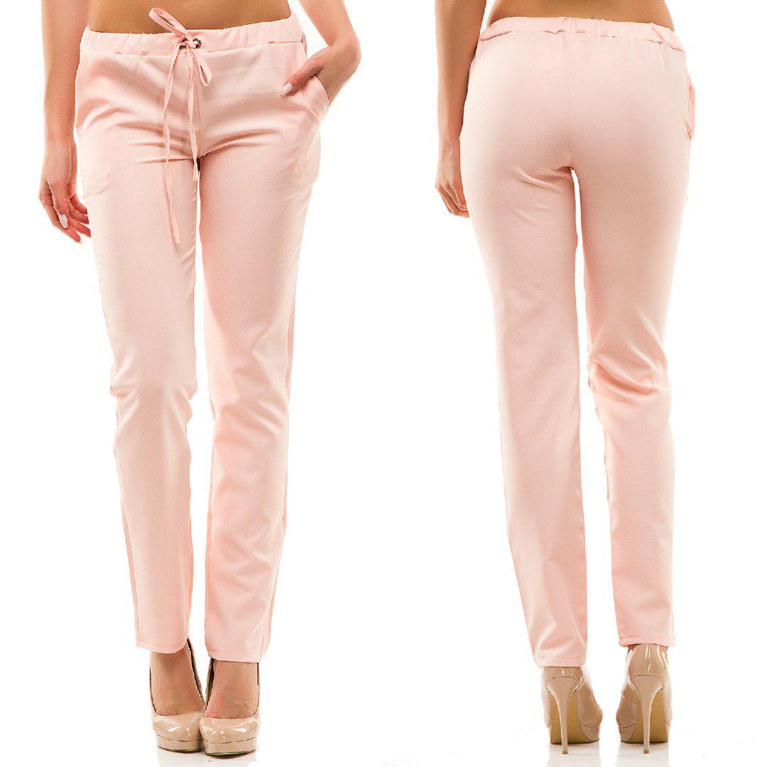 Стильные летние женские штаны. Хит ЛЕТА! Пудра - Стильная женская одежда  оптом cfcf0fb42fa20
