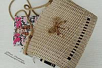 Пляжная плетеная сумка, фото 1