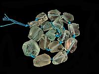 Заготовка из необработанного голубого кварца, фото 1
