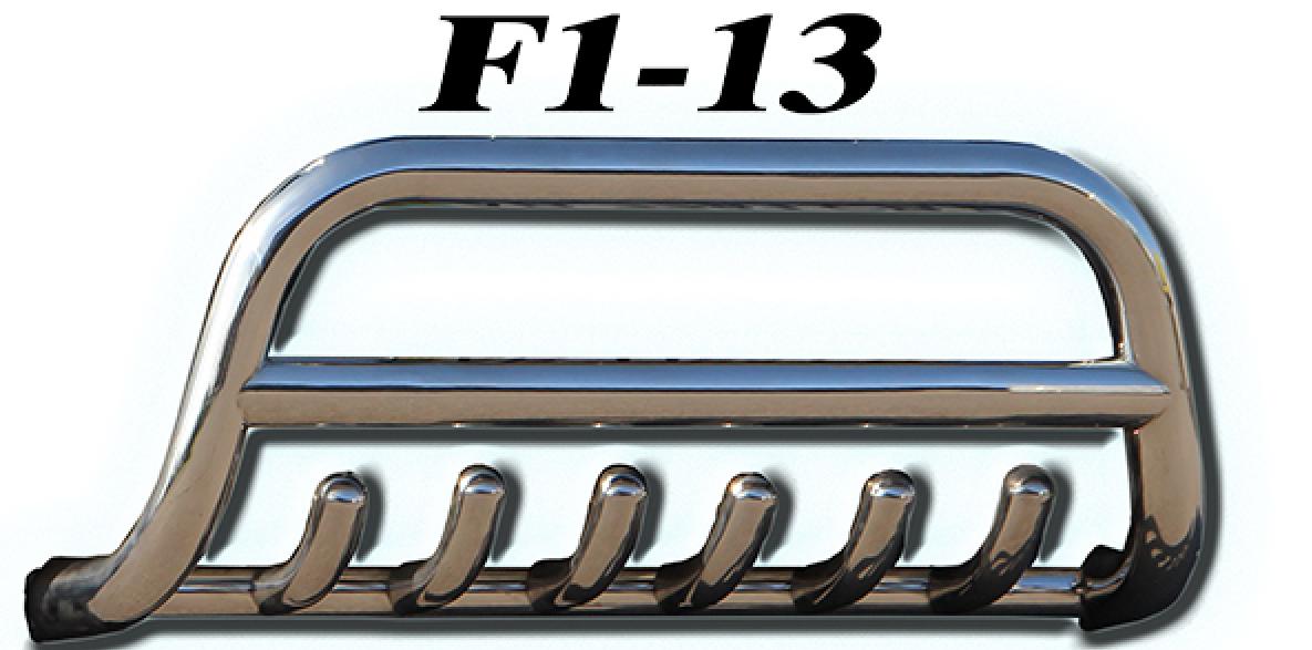 Защита переднего бампера Volkswagen Caddy 2004-2010 (диаметр трубы 51м