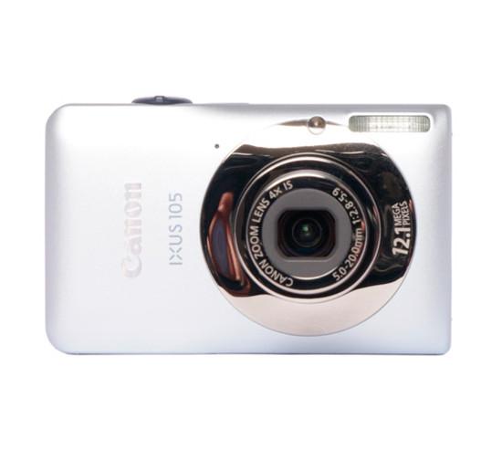 Фотоаппарат Canon PowerShot IXUS 105 IS (SD1300 IS USA) Silver