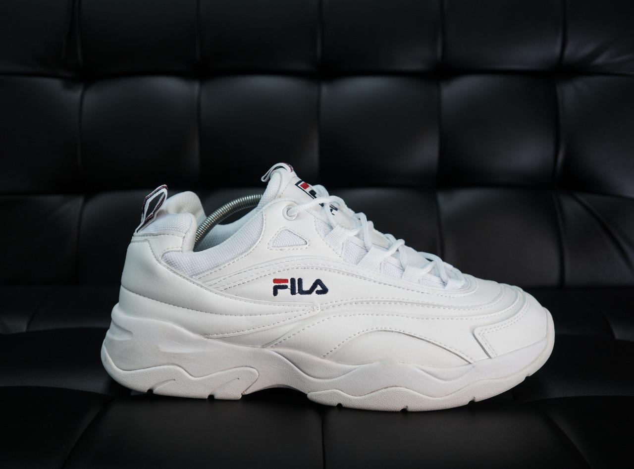 Мужские кроссовки FILA Фила рей белые другие бренд -Экокожа 3c4854237002e