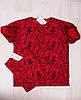 Футболка  мужская красная размеры 46-54 , фото 2