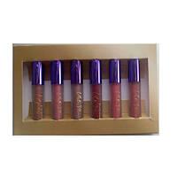 Набор матовых блесков для губ MAC Nicki Minaj Cremesheen Glass (палитра В) (Лицензия Люкс) (Реплика)