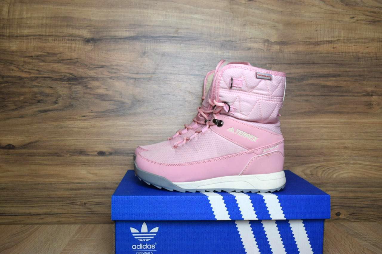 Кроссовки в стиле Adidas Terrex 2 розовые
