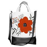Женская сумка городская стильная SCB_16A064_BL