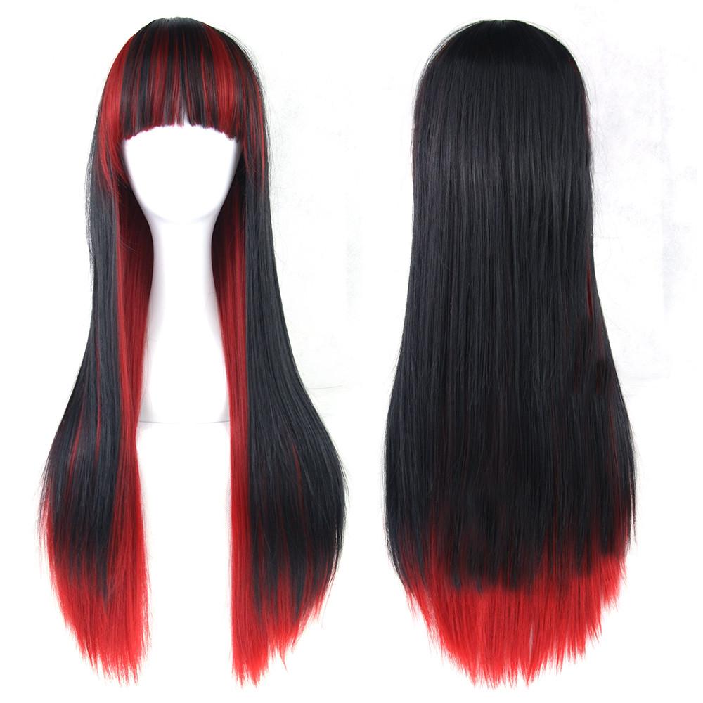 Длинные парики - 70см, прямые волосы, косплей, анимэ, огненные