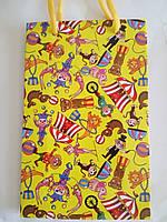 Пакет подарочный бумажный средний 16х25х7 (23-078)
