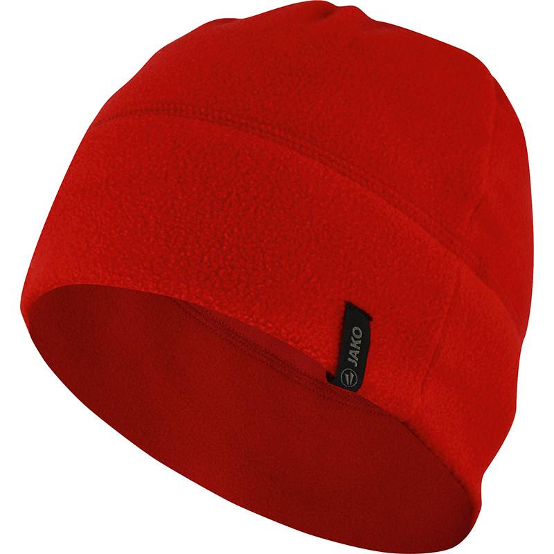 Флисовая шапка JAKO (красная)