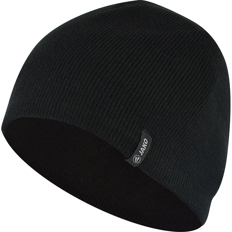 Вязаная шапка JAKO (черная)