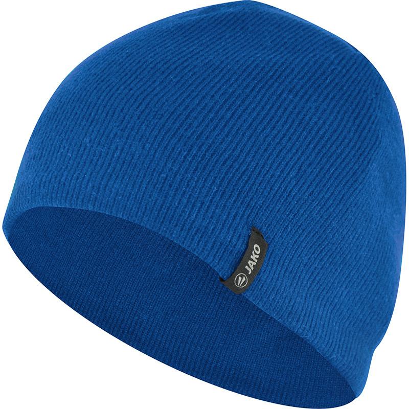 Вязаная шапка JAKO (синяя)