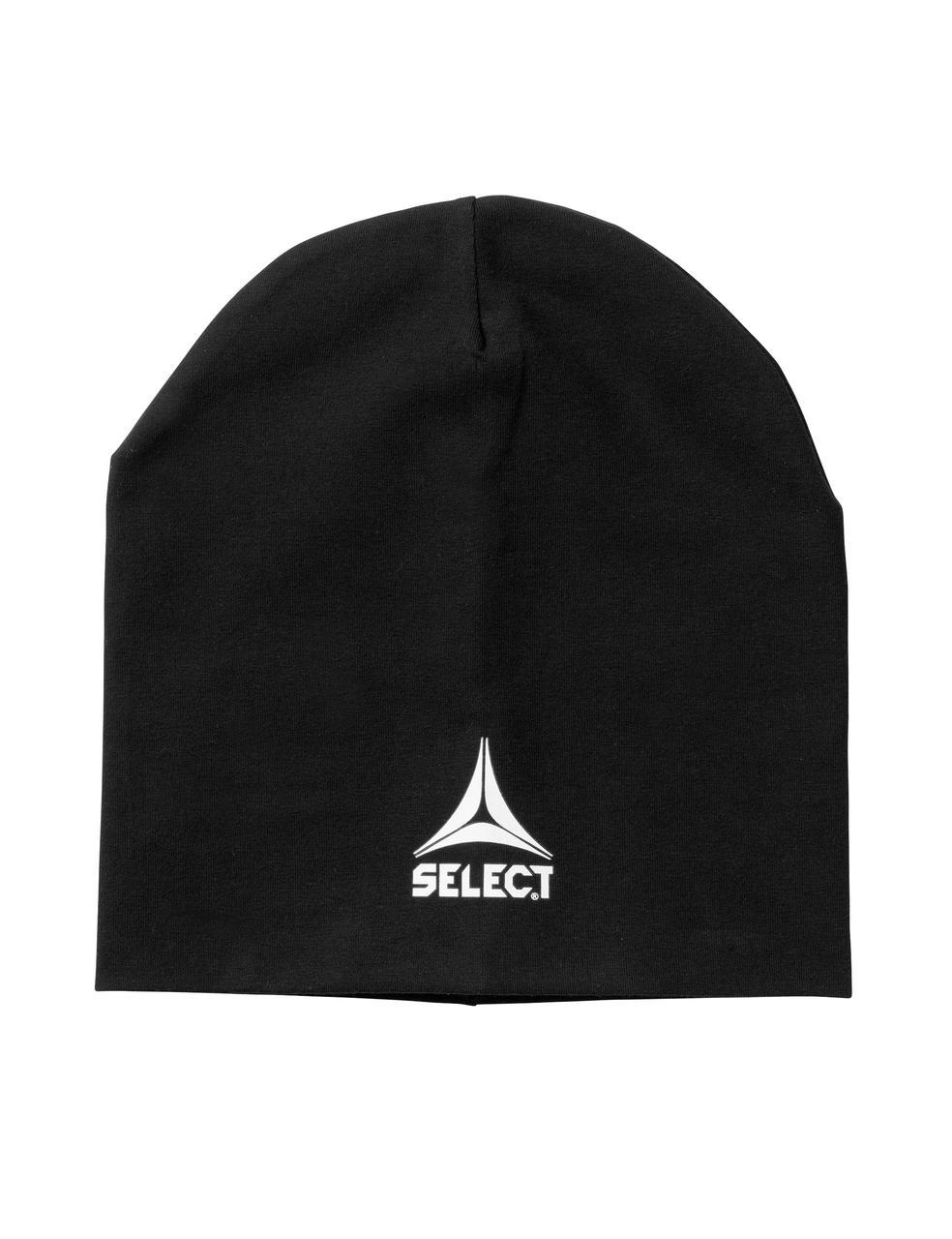 Шапка SELECT Knitted cap (черная)