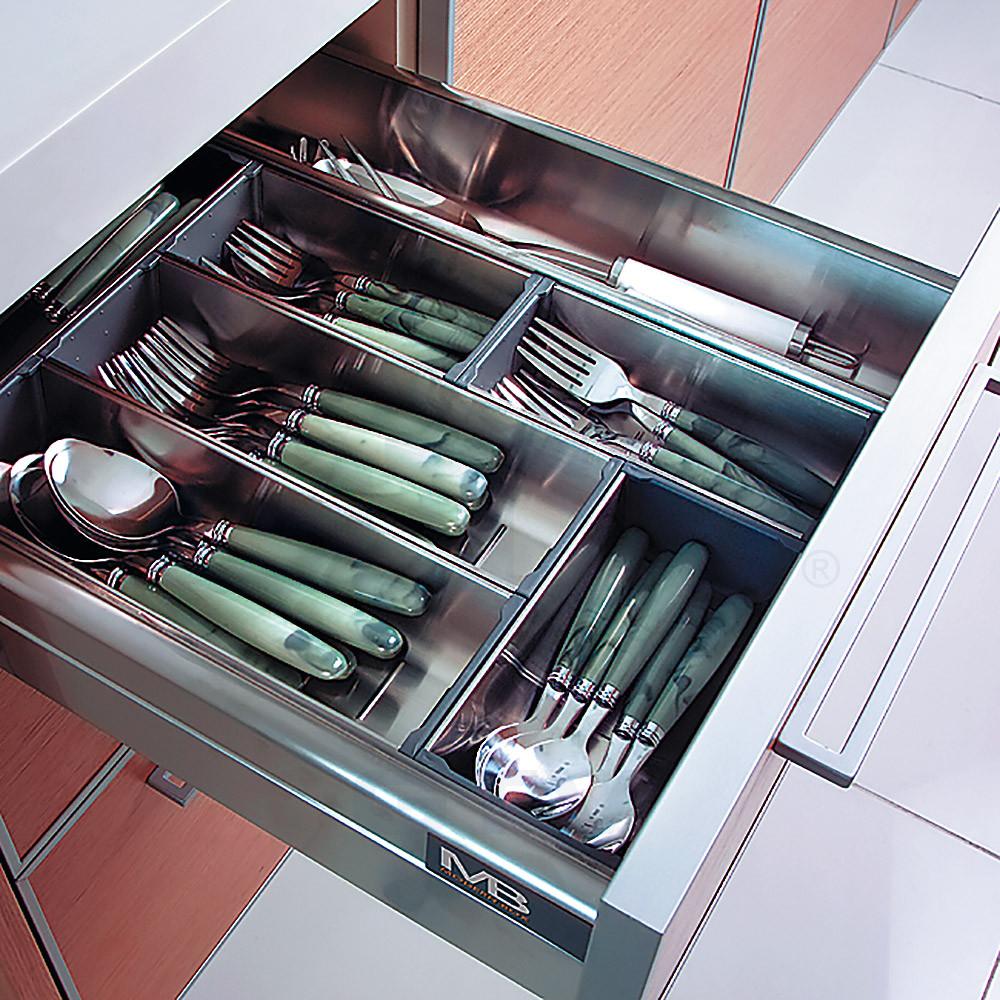 Ящик Modernbox L 350 С высокий серый