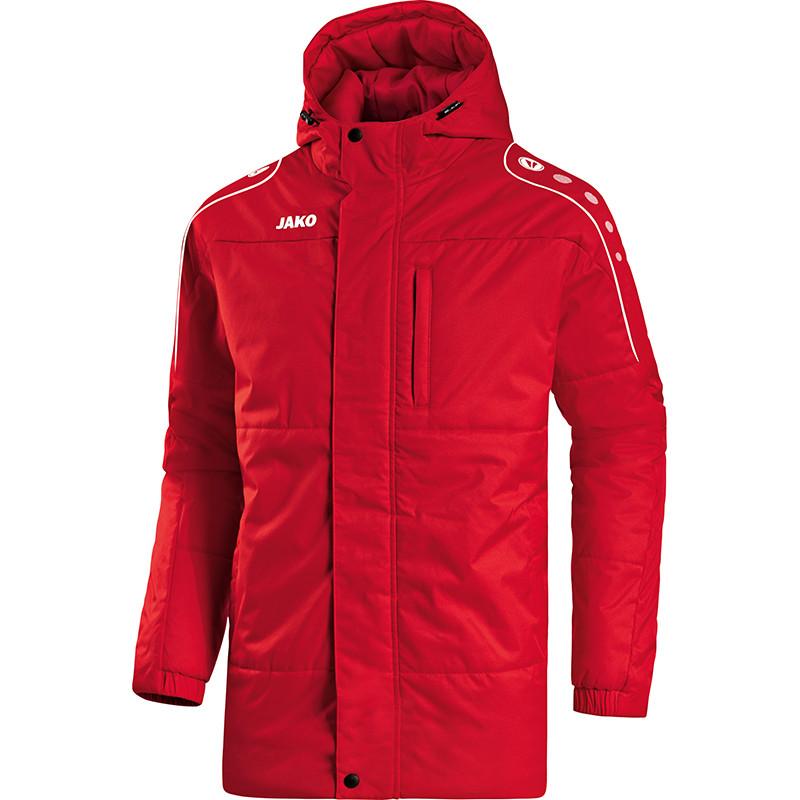 Куртка тренера Jako (красная)