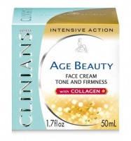 Крем-лифтинг тонизирующий для зрелой кожи лица с коллагеном Clinians - Age Beauty -  50 ml (10685) ( EDP46706 )