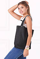 Черная джинсовая сумка-тоут Street