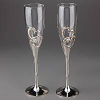 Свадебные бокалы Влюбленные 002G-3