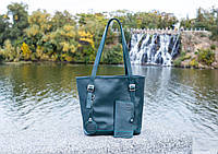 "Женская сумка шоппер"" Soft"". Кажаная женская сумка на плечо"