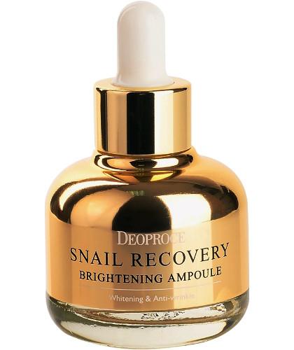 Сыворотка на основе муцина улитки Deoproce Snail Recovery Brightening Ampoule 30ml