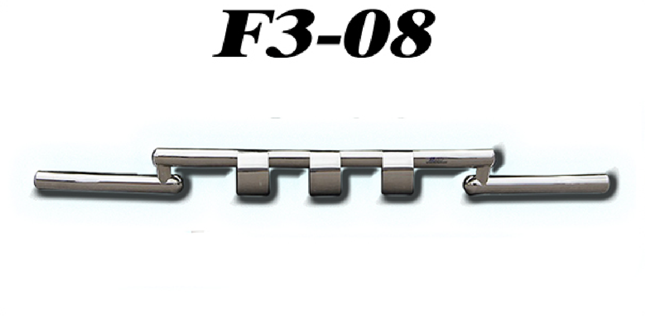 Защита переднего бампера Volvo XC-60 2008-2013