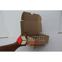 Коробка картонная 240 * 170 * 100 мм, самосборная