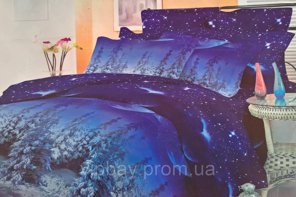 Комплект постельного белья Двуспальный Евро Полиэстер Moda 3001-e