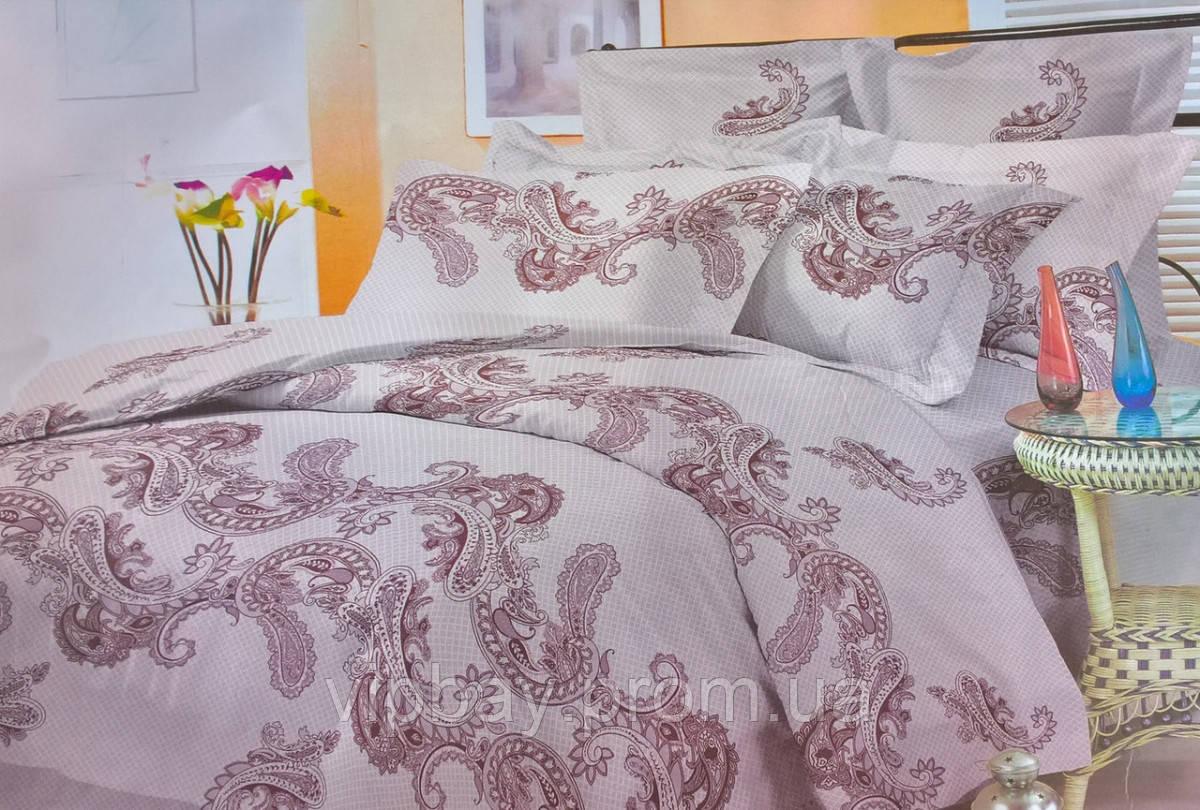 Комплект постельного белья Двуспальный Евро Полиэстер Moda 3009-e