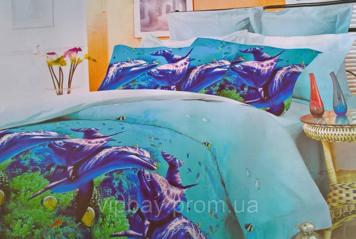 Комплект постельного белья Двуспальный Полиэстер Moda 3006-d