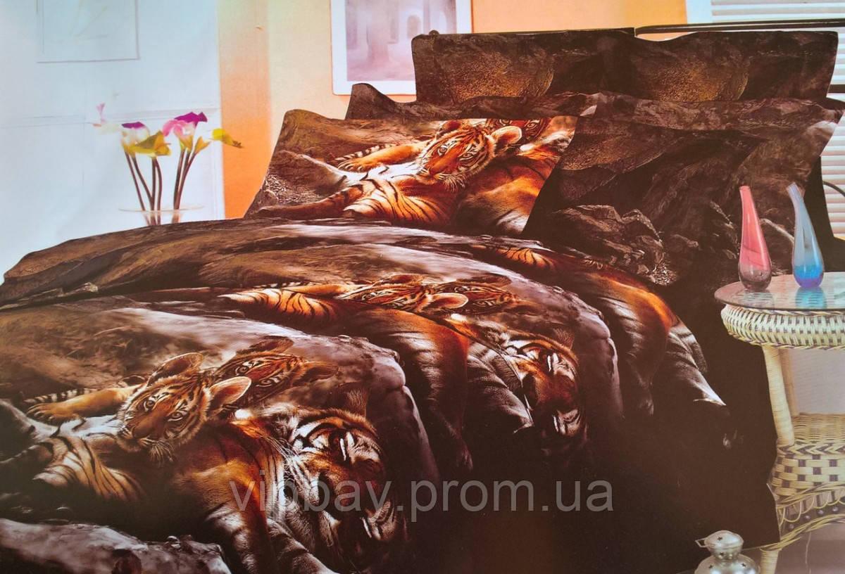 Комплект постельного белья Двуспальный Полиэстер Moda 3008-d